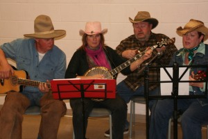 Ian, Teresa, Rick and Mandy played Pancho and Lefty